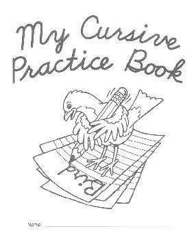 My Cursive Practice Book-10 Pack