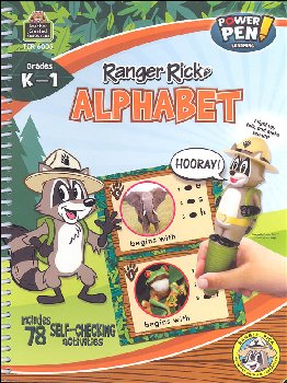 Ranger Rick Power Pen Learning Book: Alphabet