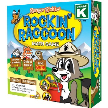 Ranger Rick's Rockin' Raccoon Math Game Grade K