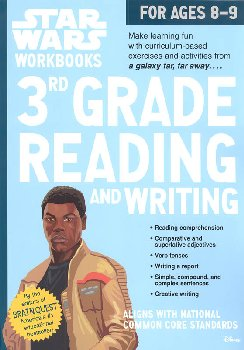 Star Wars Workbooks 3rd Grade Reading and Writing