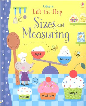 Lift-the-Flap: Sizes and Measuring (Usborne)