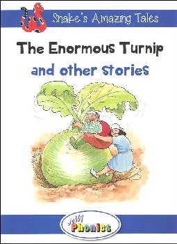 Jolly Phonics Decodable Readers Level 4 Snake's Amazing Tales - Enormous Turnip and other stories