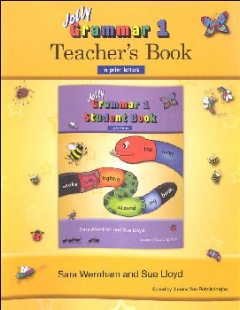 Jolly Phonics Grammar 1 Teacher's Book (Print Letters)