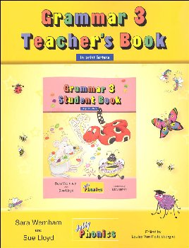 Jolly Phonics Grammar 3 Teacher's Book (Print Letters)