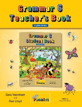 Jolly Phonics Grammar 6 Teacher's Book (Print Letters)