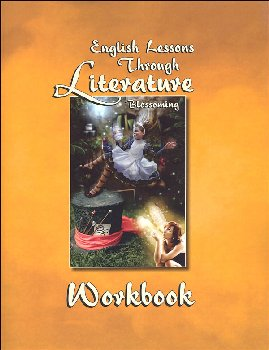 English Lessons Through Literature Level B Vertical Cursive Workbook