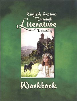 English Lessons Through Literature Level D Vertical Cursive Workbook