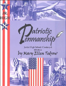 Patriotic Penmanship Junior High School Grades 7-8 Book II