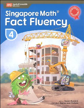 Singapore Math Fact Fluency Grade 4