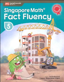 Singapore Math Fact Fluency Grade 5