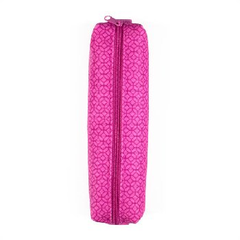 On the Go Zipper Pencil Pouch - Pink