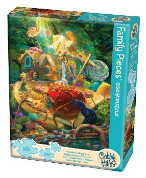 Candy Cottage Puzzle (350 piece)