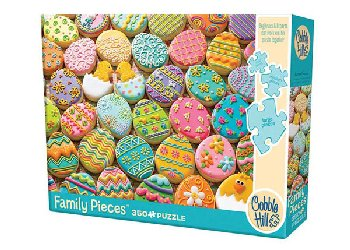 Easter Cookies Puzzle (350 piece)