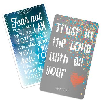 Faith Magnets - Isaiah 41:10 & Proverbs 3:5