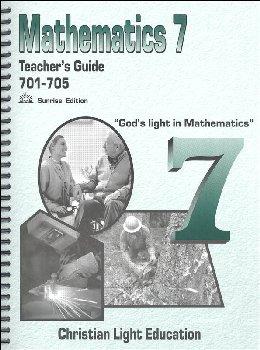 Mathematics Teacher's Guide 701-705 with answers Sunrise Edition
