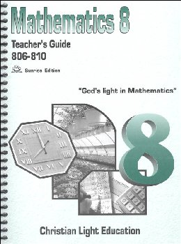 Mathematics Teacher's Guide 806-810 w/ answers Sunrise Edition