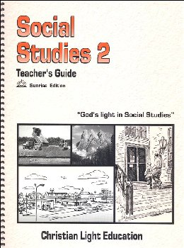 Social Studies 200 Teacher's Guide Sunrise Edition (with answers)