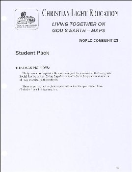 Social Studies 300 Living Together on God's Earth - Student Maps