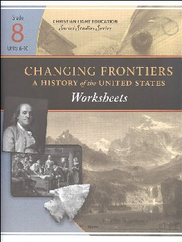 Social Studies Grade 8 Changing Frontiers Worksheets 2