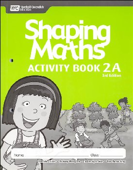 Shaping Maths Activity Book 2A 3rd Edition