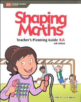 Shaping Maths Teacher's Planning Guide 4A 3rd Edition