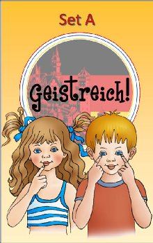 Geistreich! German Level 1 Flashcards Set A (Brilliant Foreign Languages)