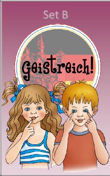 Geistreich! German Level 1 Flashcards Set B (Brilliant Foreign Languages)