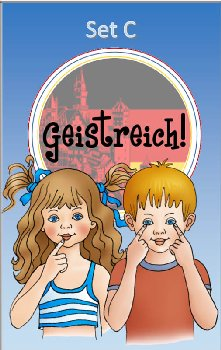 Geistreich! German Level 1 Flashcards Set C (Brilliant Foreign Languages)