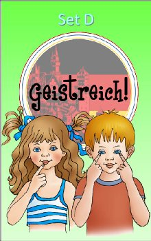 Geistreich! German Level 1 Flashcards Set D (Brilliant Foreign Languages)