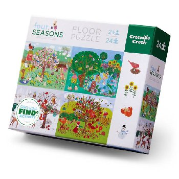 Four Seasons Floor Puzzle (Early Learning Puzzles 24-piece)