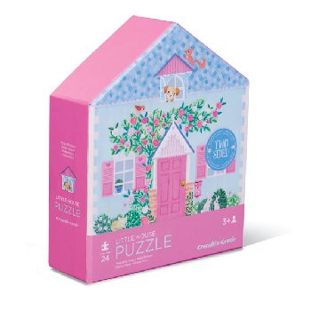 Little House Two-Sided House Puzzle (24 pieces)