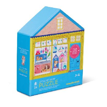 Little Pet Shop Two-Sided House Puzzle (24 pieces)