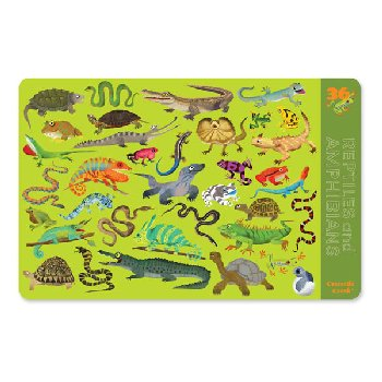 Reptiles & Amphibians Two-Sided Placemat