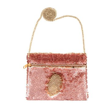 Rose Gold / Gold Magic Sequin Belt Bag