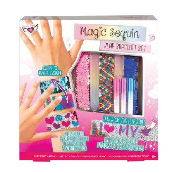 Magic Sequin Slap Bracelet Set