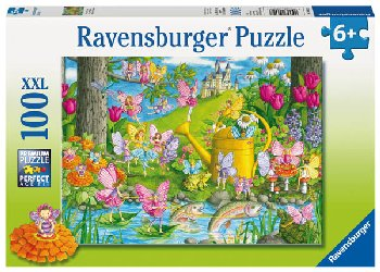 Fairy Playland Children's Puzzle (100 pieces)
