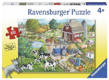 Home on the Range Children's Puzzle (60 pieces)