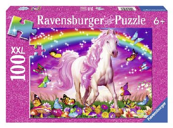 Horse Dream Glitter Puzzle (100 pieces)