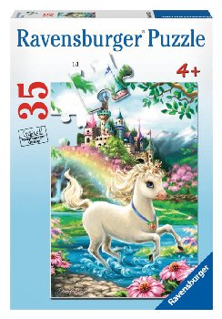 Unicorn Castle Children's Puzzle (35 pieces)