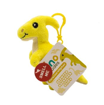 Parasaurolophus (Pineapple) - Dino Dude Scented Backpack Buddy