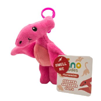 Pteranodon (Strawberry) - Dino Dude Scented Backpack Buddy