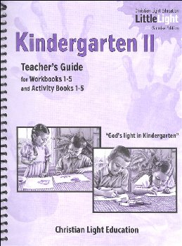 Kindergarten II Teacher's Guide Sunrise Edition