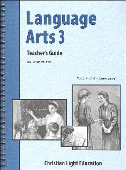 Language Arts 300 Teacher's Guide with answers Sunrise 2nd Edition