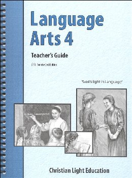 Language Arts 400 Teacher's Guide with answers Sunrise 2nd Edition