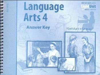 Language Arts 401-410 Answer Key Sunrise 2nd Edition