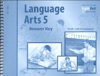 Language Arts 501-510 Answer Key Sunrise 2nd Edition