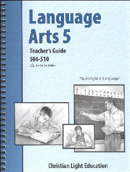 Language Arts 506-510 Teacher's Guide with answers Sunrise 2nd Edition