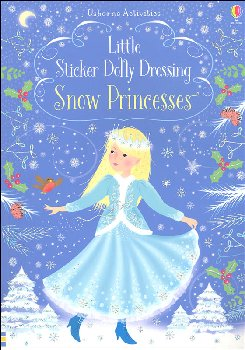 Little Sticker Dolly Dressing - Snow Princesses (Usborne)