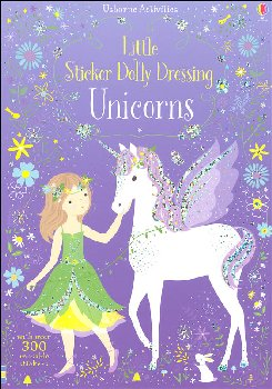 Little Sticker Dolly Dressing - Unicorns (Usborne)