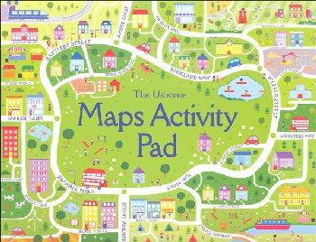 Maps Activity Pad (Usborne)